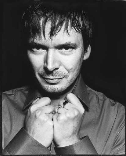 An image of Ian Rankin, father, author and  Kindred supporter